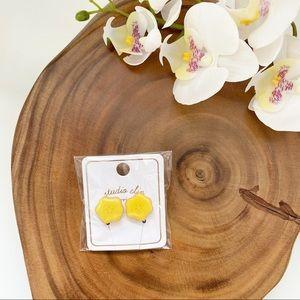 🇯🇵 Studio CLIP flower clip on earrings